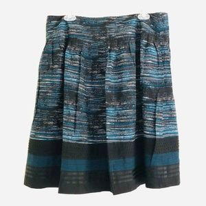 alfani Silk / Wool Printed and Beaded Petite Skirt
